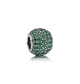 791051CZN - Pavee Lights Green