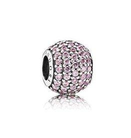 791051PCZ - Pavee Lights Pink