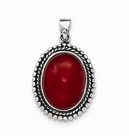 Antiqued Red Agate