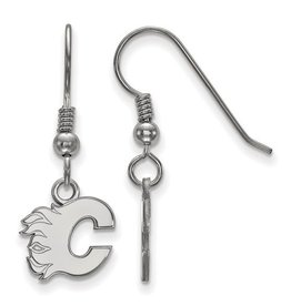 NHL Licensed Calgary Flames Earrings