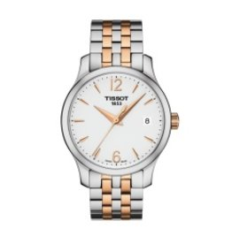 Tissot Tradition Quartz Steel and Rose PVD