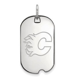NHL Licensed Calgary Flames Dog Tag