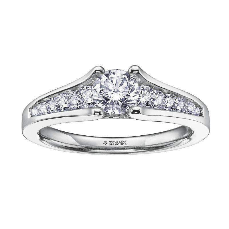 Buy White Gold Diamond Ring Online In Canada