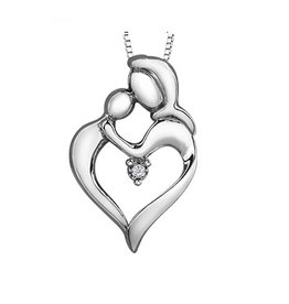 Diamond Mother & Child (0.01ct) Canadian