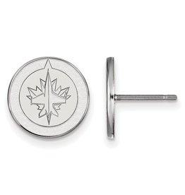NHL Licensed Winnipeg Jets Stud Earrings