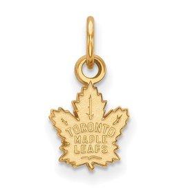 Toronto Maple Leafs Pendant Yellow Gold (9mm)