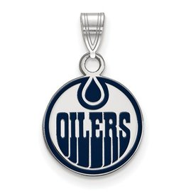 NHL Licensed Edmonton Oilers Enamel (Small)