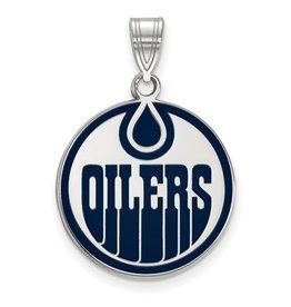 NHL Licensed Edmonton Oilers Enamel (Large)