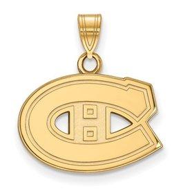 Montreal Canadiens Yellow Gold Pendant