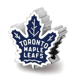 Toronto Maple Leafs Enameled Bead