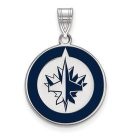 Winnipeg Jets Enamel (Large)