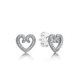 Pandora 297099CZ - Heart Swirls