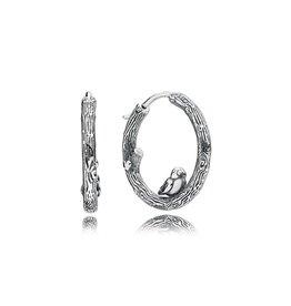 Pandora 297072 - Spring Bird Hoop Earrings