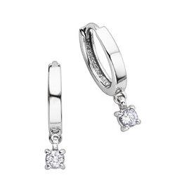 Dangle Diamonds Hoop (0.25ct)