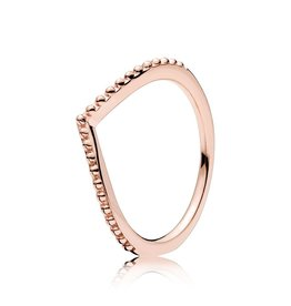 Pandora 186315 - Beaded Wish Ring, PANDORA Rose™