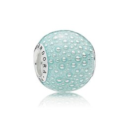 Pandora 797091EN155 - Aqua Enchantment Charm, Blue Enamel
