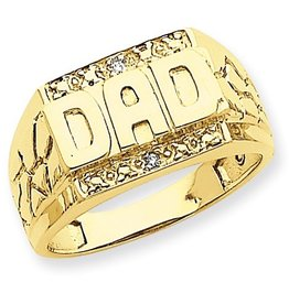 DAD Yellow Gold Dia
