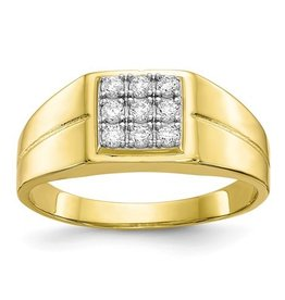 10K CZ Ring