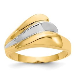 Polished Wave Ring