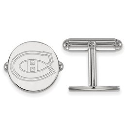 Montreal Canadiens Sterling Silver Cuff Links
