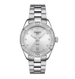 Tissot PR 100 Sport Chic with Diamonds