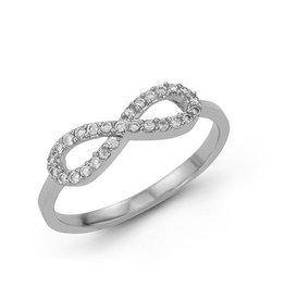 Infinity CZ Ring