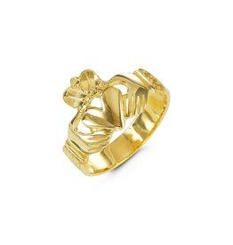 Claddah Yellow Gold Ring