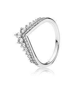Pandora 197736CZ - Princess Wish Ring, Clear CZ
