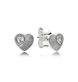 Pandora 297214 - Open Heart Ear Cuff