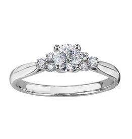 Maple Leaf Diamonds White Gold (0.50ct) Canadian Diamond Engagement Ring