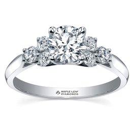 Maple Leaf Diamonds White Gold (1.00cttw) Canadian Diamond Engagement Ring