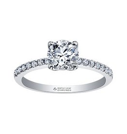 Brilliant (0.87ct) Certified Canadian Diamond Ring