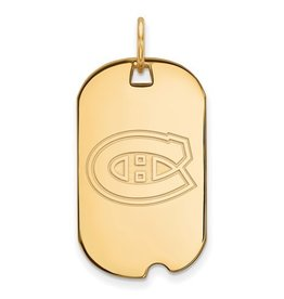Montreal Canadiens Dog Tag
