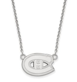 Montreal Canadiens Sterling Silver Necklace