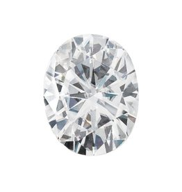 Moissanite 8x6mm Oval Faceted Forever One (1.50ct)