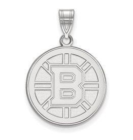 Boston Bruins Sterling Silver Pendant (large)