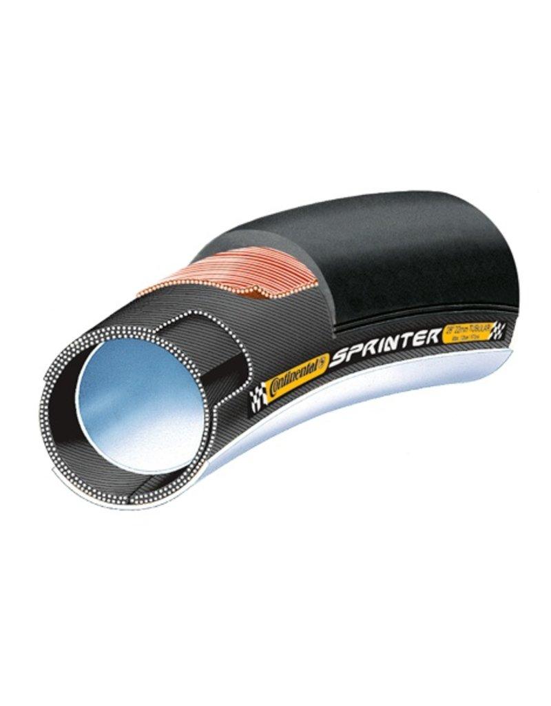 "Continental CONTINENTAL Tubular Sprinter , 28"" x 22mm"