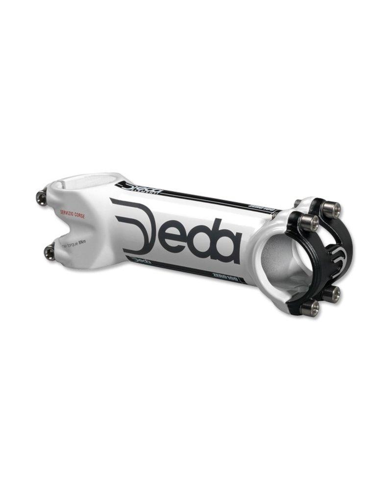 Deda Elementi DEDA ZERO 100 SERVIZIO CORSE  WHITE Stem, 140 mm