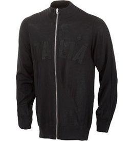 De Marchi DEMARCHI D.S. ITALIA LIGHTWEIGHT WOOL PULLOVER Full Zip Track Jacket