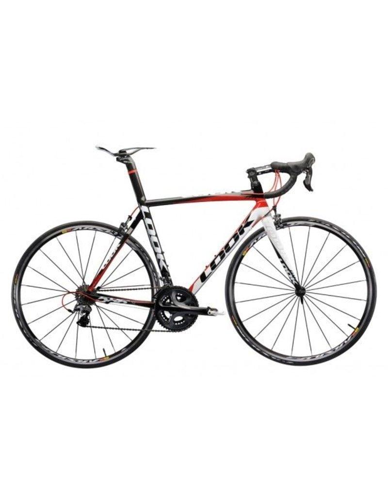 Look LOOK 586 w. Ultegra Complete Bike, Black/White/Red, M