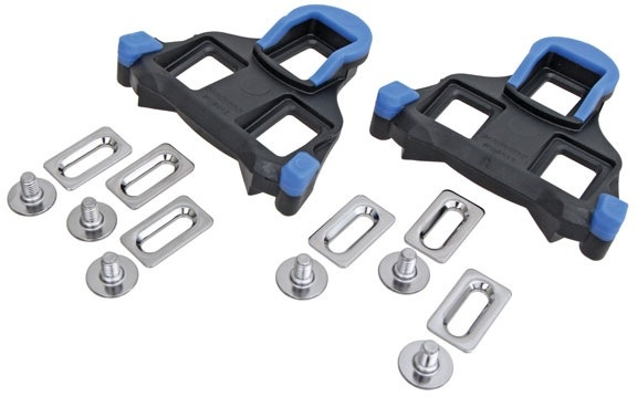Shimano SHIMANO SPD SL Cleat Set, 2 Degrees Float, Blue
