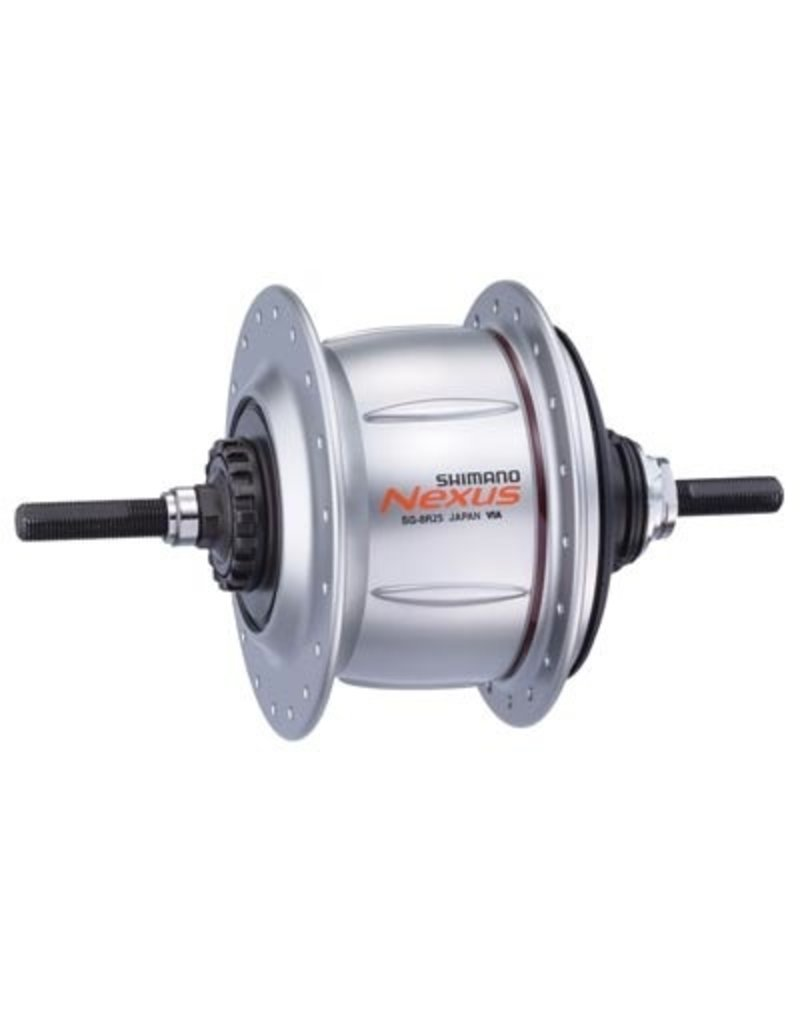 Shimano SHIMANO Nexus 8 SG8R36 Hub assembly, incl.: dust cap, cog, Non-turn washers, clamp, cassette joint, snap ring, TA nuts
