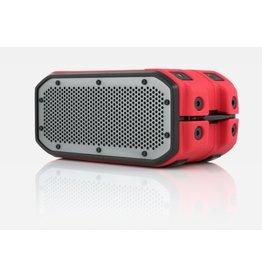 Braven BRV-1M Outdoor Waterproof Speaker - Red / Titanium Grill