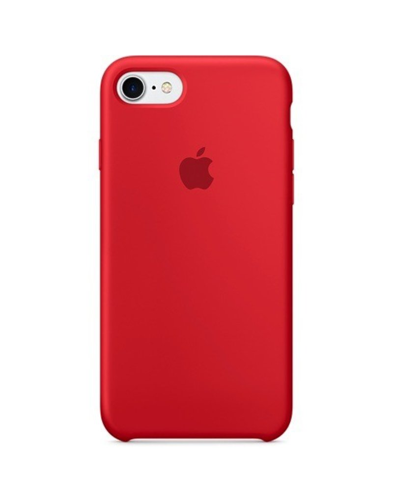 Apple Apple iPhone 7 Silicone Case - (PRODUCT)RED
