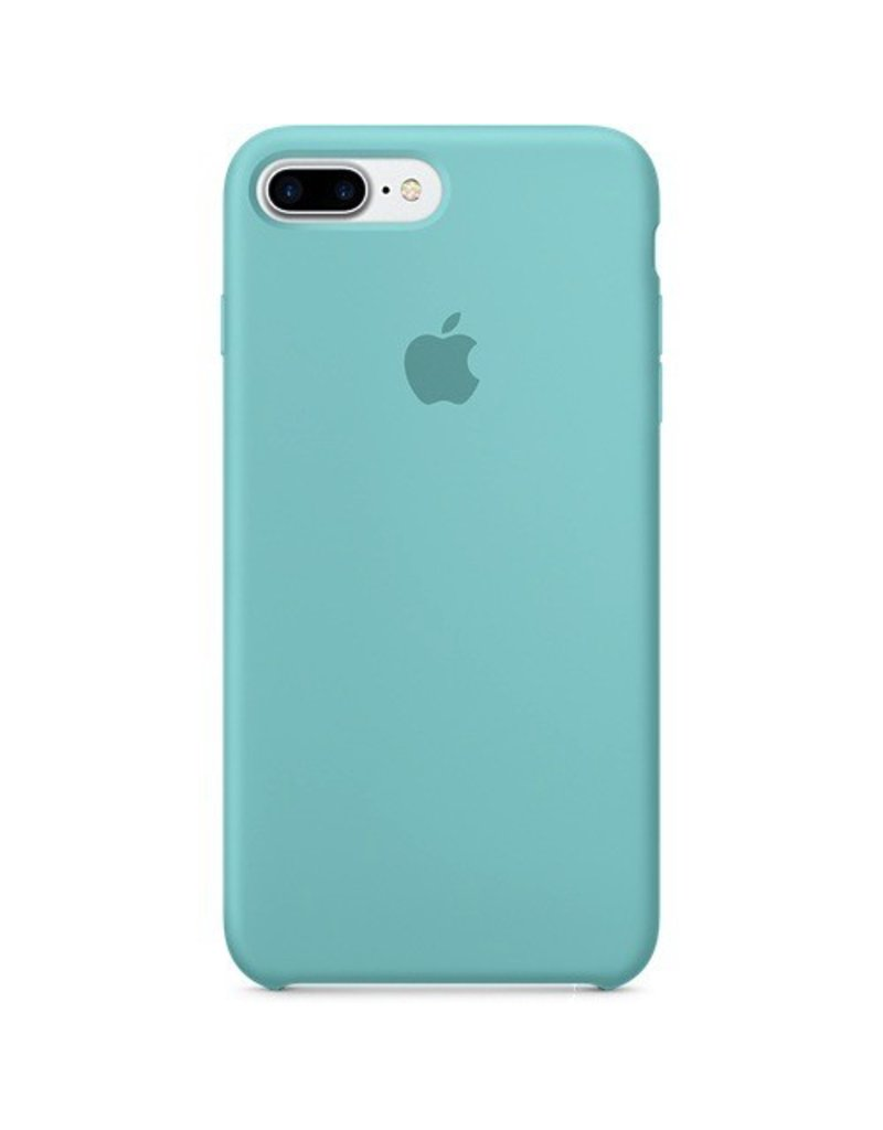 Apple Apple iPhone 7 Plus Silicone Case - Sea Blue