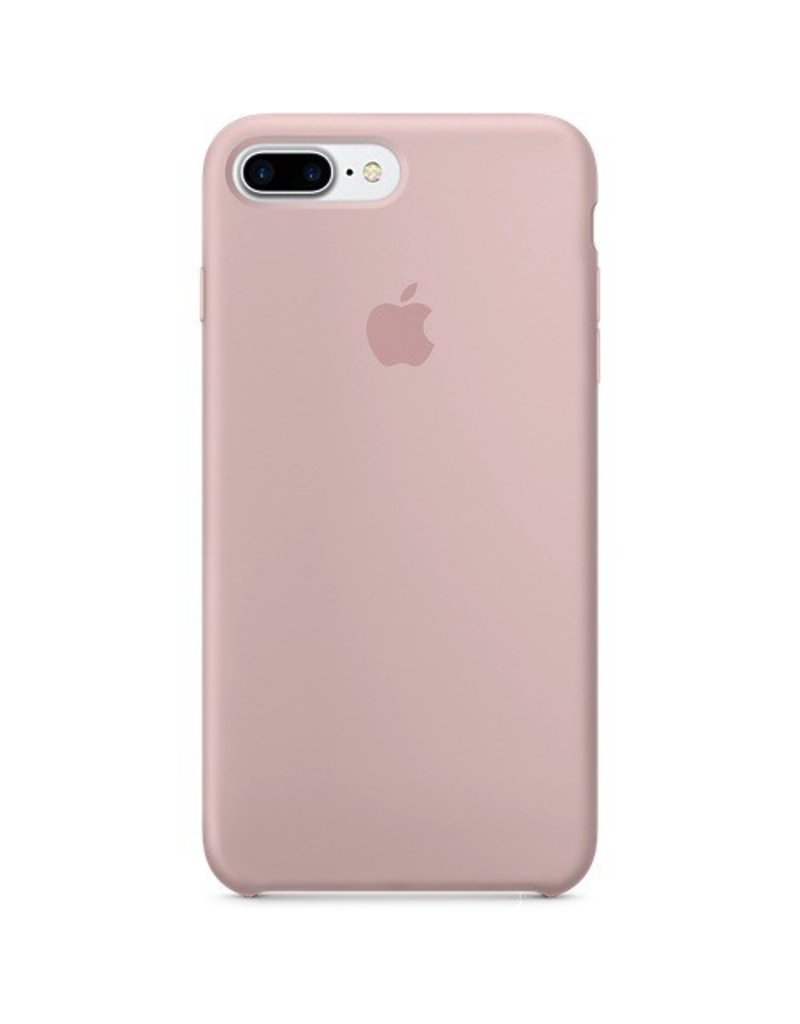 Apple Apple iPhone 7 Plus Silicone Case - Pink Sand