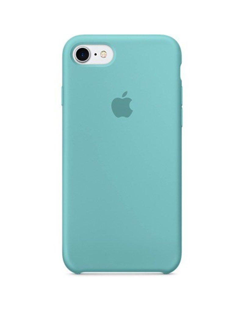 Apple Apple iPhone 7 Silicone Case - Sea Blue