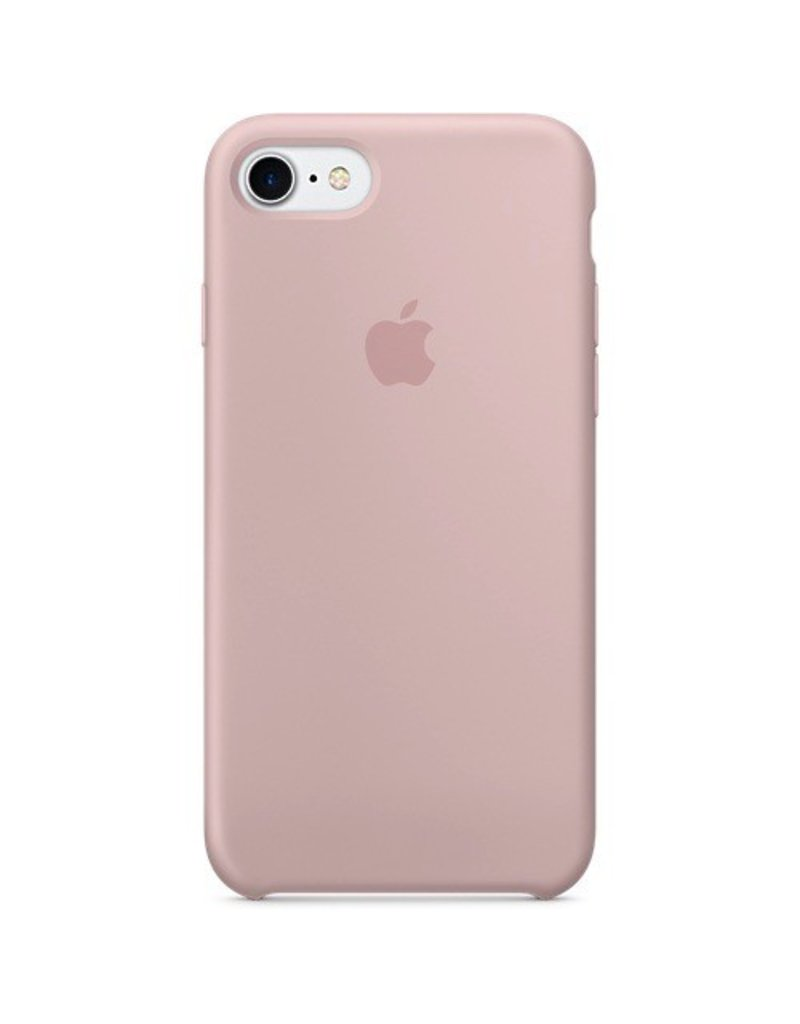 Apple Apple iPhone 7 Silicone Case - Pink Sand