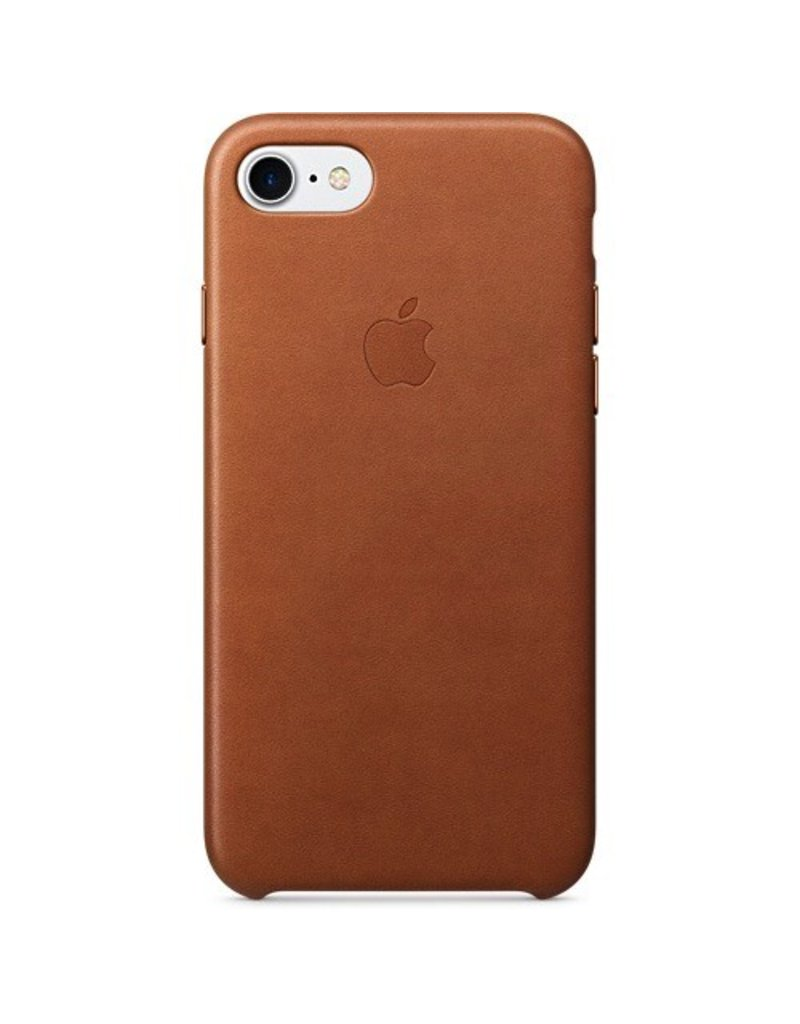 Apple Apple iPhone 7 Leather Case - Saddle Brown