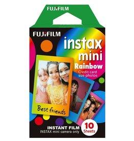 Fujifilm Instax Mini Rainbow Instant Film - Single Pack (10 Exposures)